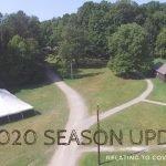 2020 Season Updates banner image